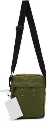 Maison Margiela Green Canvas Messenger Bag