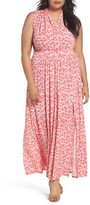 MICHAEL Michael Kors Plus Size Women's Lydia Print Maxi Dress