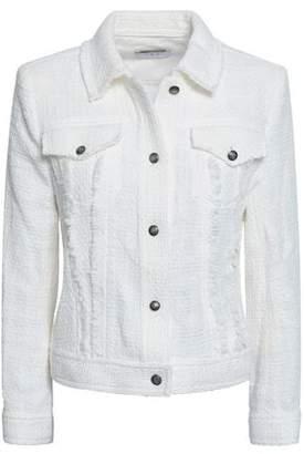 IRO Paloma Frayed Cotton-tweed Jacket