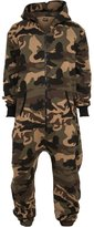 Urban Classics Men's TB581 Camo Jumpsuit