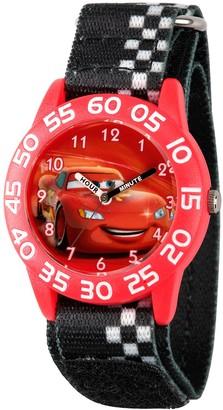 Disney Lightning McQueen Time Teacher Watch Kids