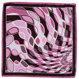 Tom Ford Pritned Silk Pocket Square
