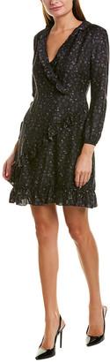 J.Mclaughlin Silk-Blend Shift Dress