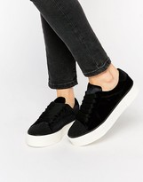 Miss KG Metallic Flatform Sneakers