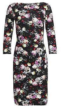 Erdem Women's Reese Floral Sheath Dress