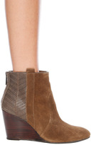 DV Pansy Wedge Ankle Bootie in Taupe