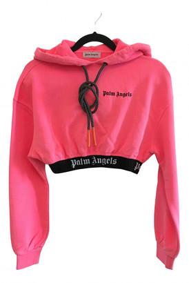 Palm Angels Pink Cotton Knitwear