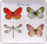 Certified International Rainbow Seeds Square Serving Platter