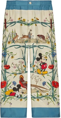 Gucci x Disney pajama trousers