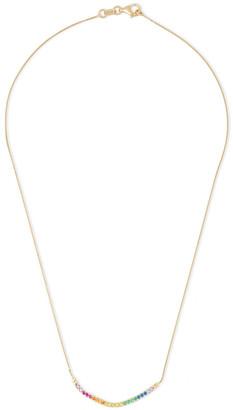 Cornelia Webb 24-karat Gold-plated Siamite Necklace