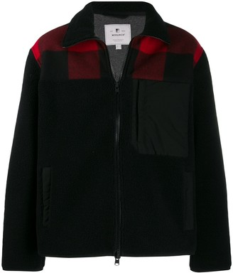 Woolrich Collared Check Jacket
