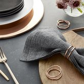 Crate & Barrel Aria Copper Napkin Ring