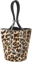 ALEXANDER WANG BAGS Roxy Leopard Mini Bucket Bag
