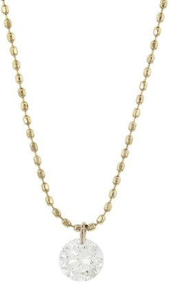 BEIGE Kataoka Round Diamond Necklace Gold