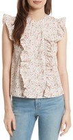 Rebecca Taylor Women's Brittany Sleeveless Floral Blouse