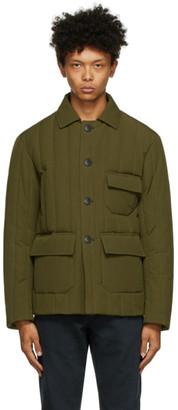 DOPPIAA Green Aderbale Chore Jacket