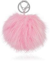 Adrienne Landau Fur-Pom-Pom Key Chain-PINK
