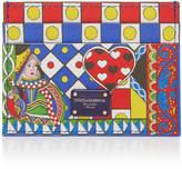 Dolce & Gabbana Queen of Hearts Card Case