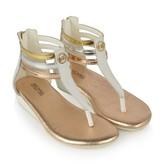 Michael Kors Michael KorsGirls White Ankle Strap Sandals