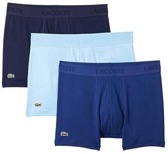 Lacoste Trunks 3-Pack Essential Classic (Black) Men's Underwear