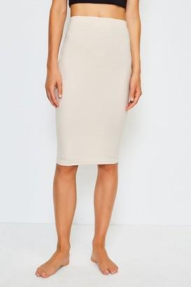 Karen Millen Smoothing Essentials Midi Slip Skirt