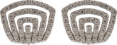 Dana Rebecca Designs Diamond Pave Huggie Earrings
