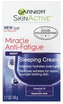 Garnier SKINACTIVE Miracle Anti-Fatigue Night Sleeping Cream 1.7 oz