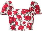 Bambah floral cap bustier