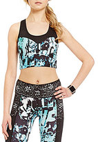 Nanette Lepore Play Active Corset Crop Top