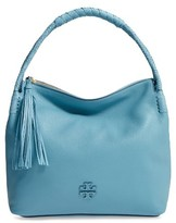 Tory Burch Taylor Leather Hobo Bag - Blue