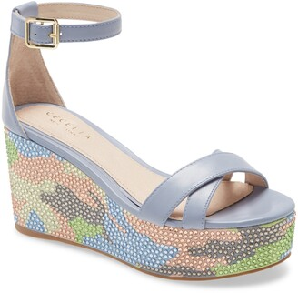 Cecelia New York Bella Platform Wedge Sandal