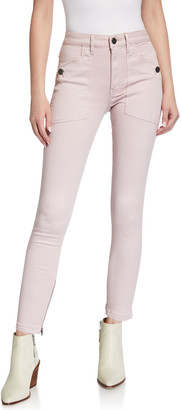 Joie Keena High-Rise Ankle Skinny Jeans