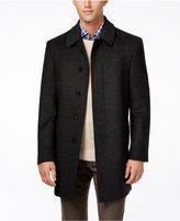 Lauren Ralph Lauren Jake Big and Tall Herringbone Wool-Blend Overcoat