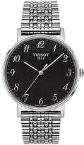 Tissot T1094101107200 Everytime Bracelet Strap Watch, Silver/black
