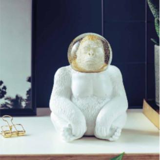 Donkey Products - 15x17cm Gorilla Space Monkey Snow Globe
