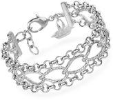 Brahmin Three Row Chain Bracelet Providence