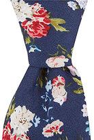 Original Penguin Pocosin Floral Skinny Cotton Tie