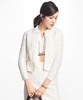 Brooks Brothers Crochet Jacket