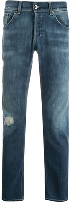 Dondup Distressed Slim-Fit Chinos