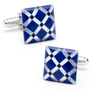 Cufflinks Inc. Mother of Pearl Diamond Cufflinks