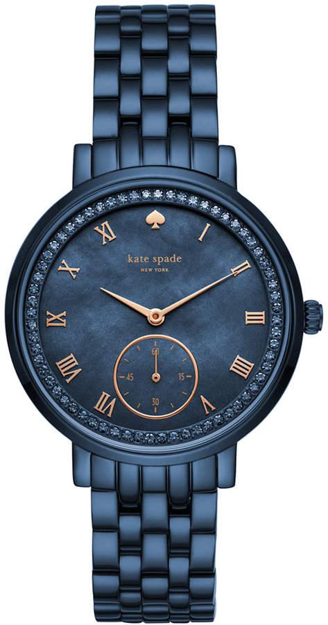 Kate Spade Women's Monterey Blue Stainless Steel Bracelet Watch 38mm