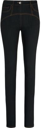 Fenty by Rihanna Contrast Stitching Skinny Jeans