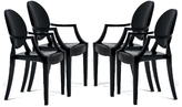 Kartell Louis Ghost Chair, Set of 4