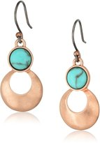 Lucky Brand and Turq Earrings