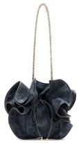 Nina Ricci Lily Suede Bucket Bag