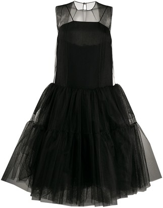 No.21 Sheer Tulle Tutu Dress