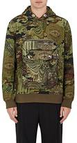 Givenchy MEN'S CAMOUFLAGE- & MONEY-PRINT HOODIE