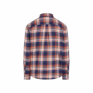 Chaps Men's Big & Tall Big Long Sleeve Performance Flannel Shirt