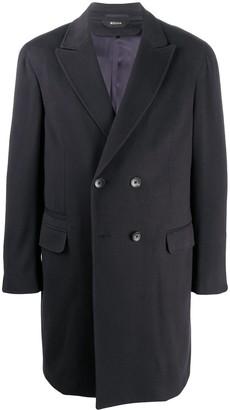 Ermenegildo Zegna Classic Double Breasted Coat