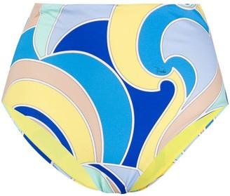 Emilio Pucci Quirimbas print bikini bottoms
